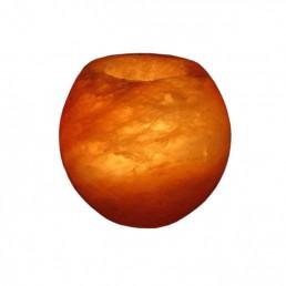 Подсвечник соляной Очаг 800-1000 г из гималайской соли
