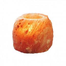 Подсвечник соляной 500-700 г из гималайской соли