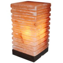 Соляная лампа Пятый Элемент - Куб 3 кг из гималайской соли