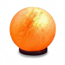 Соляная лампа Фэншуй Шар 3 кг из гималайской соли (уценка)