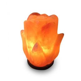 Соляная лампа Цветок 2-3 кг из гималайской соли