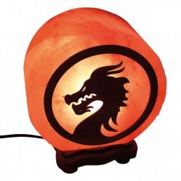 Соляная лампа Дракон (Mortal Kombat) 3-3,5 кг из гималайской соли