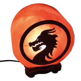 Соляная лампа Дракон Mortal Kombat 5-6 кг из гималайской соли