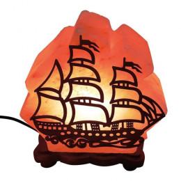 Соляная лампа Корабль 4-5 кг из гималайской соли