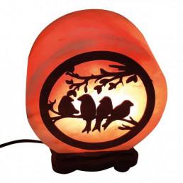 Соляная лампа Птицы 3 кг, из гималайской соли
