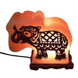 Соляная лампа Слон 4-5 кг из гималайской соли