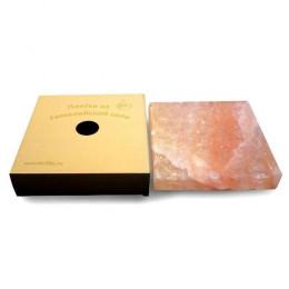 Соляная плитка для жарки 4х20x20 см, гималайская соль, картонная коробка