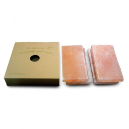 Набор плиток для засолки, гималайская соль, картонная коробка